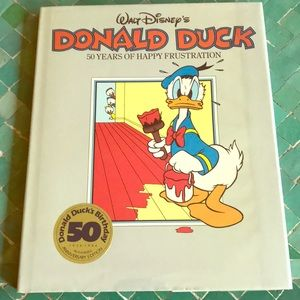 "Walt Disney's, ""Donald Duck ""book 50th  birthday"